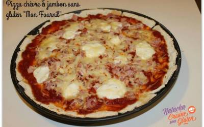 Pizza sans gluten (mix Mon fournil Bio)