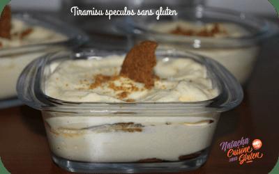 Tiramisu speculoos sans gluten (concours Gluten Corner terminé)