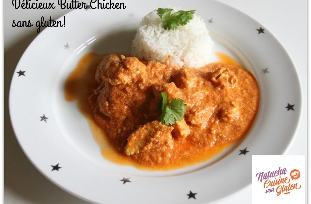 Butter chicken sans gluten