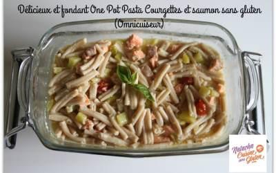 One Pot Pasta Saumon et courgettes sans gluten (Omnicuiseur)