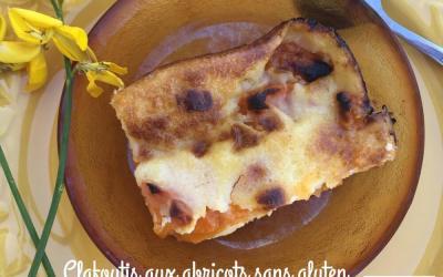 Clafoutis aux abricots sans gluten