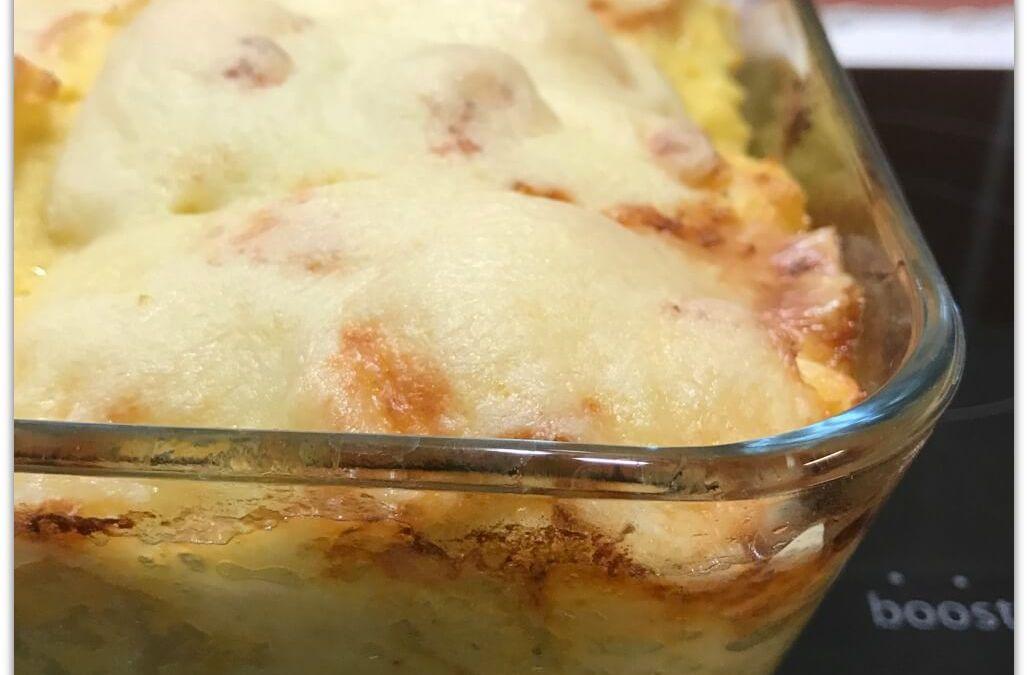 Gratin de polenta au fromage sans gluten