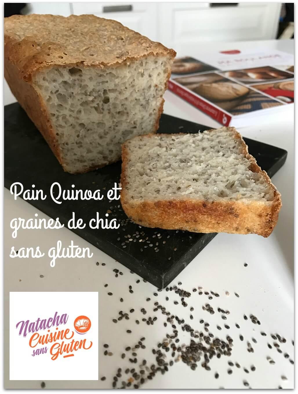 pain quinoa et graines de chia sans gluten ma cuisine. Black Bedroom Furniture Sets. Home Design Ideas