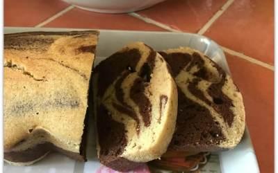 Cake marbré sans gluten (et léger)