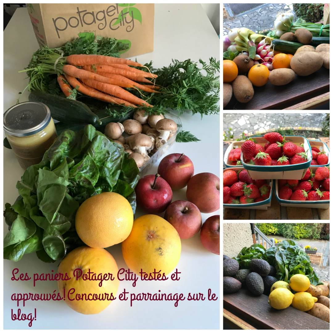 paniers Potager City