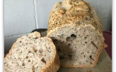 Pain rapide farine de chataigne sans gluten