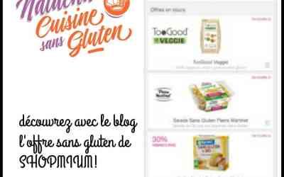 News sans gluten #11: économiser avec Shopmium