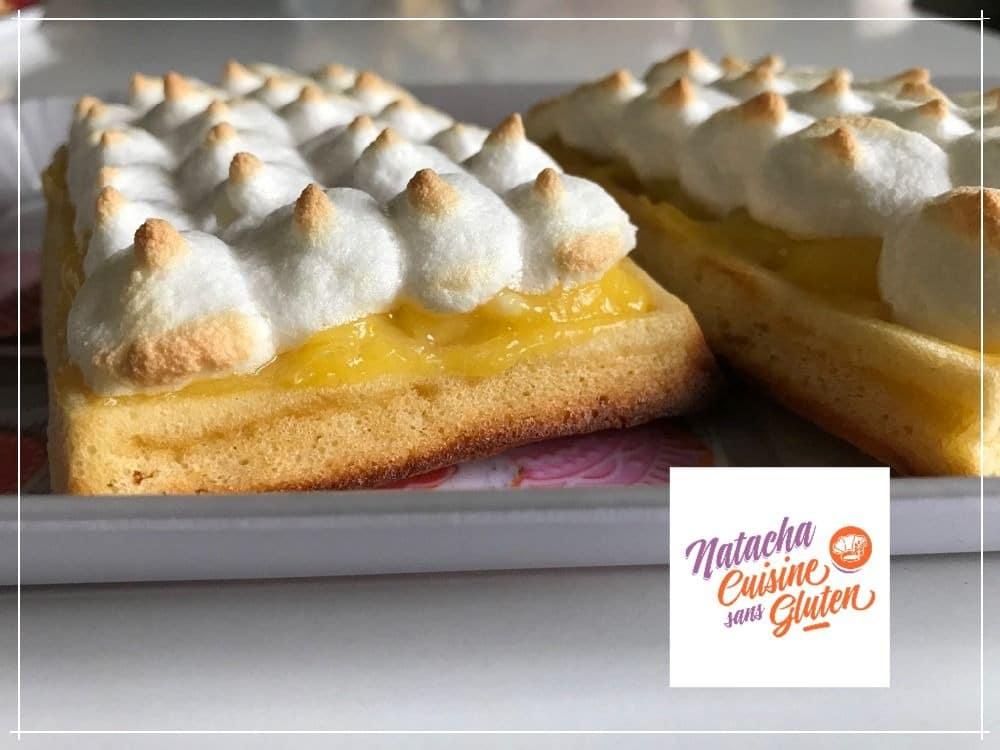 Gaufres façon tarte citron meringuée sans gluten