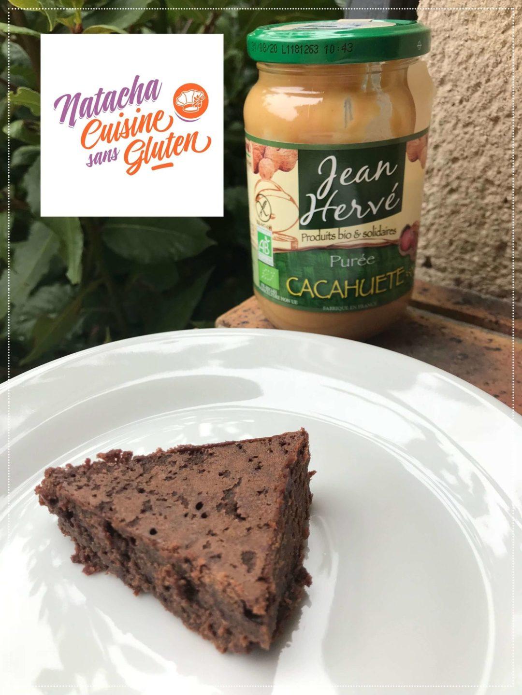 Fondant chocolat cacahuète sans gluten