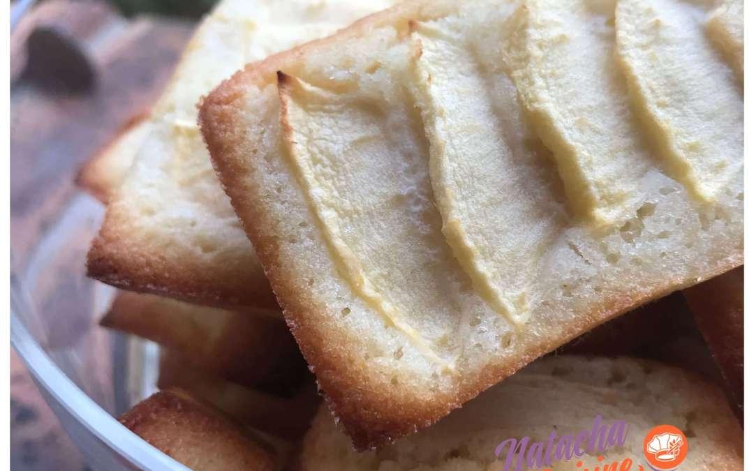 Financiers citron pommes sans gluten