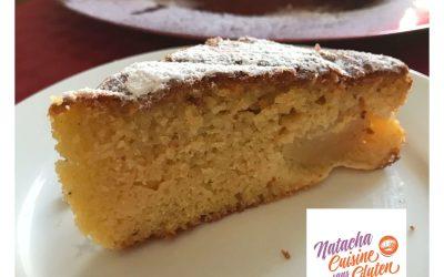 Gâteau madeleines poires sans gluten
