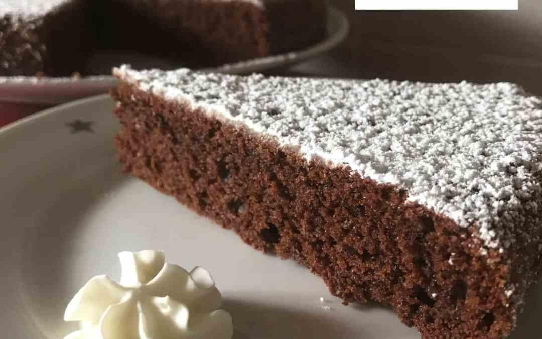 Gâteau au chocolat sans gluten tout simplement