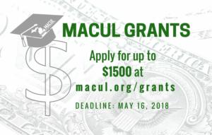 2018 MACUL Grants