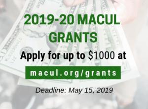2019-20 MACUL Grants