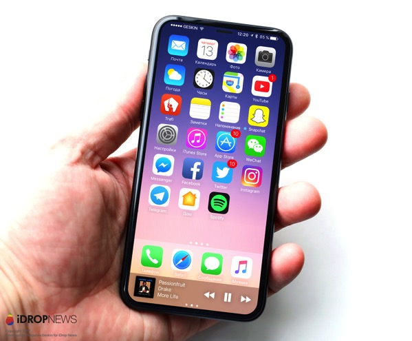 IDrop News Exclusive iPhone 8 Image 1