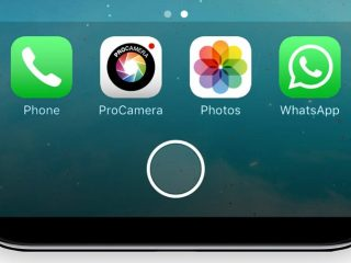 iPhone8 HomeButton