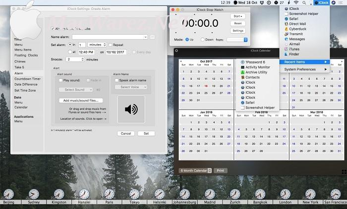 iClock 4.0.7 Full Version Key Features
