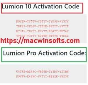 Lumion Pro 2021 keys
