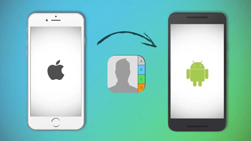 So übertragen Sie Kontakte vom iPhone auf ein Android