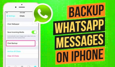 whatsapp backup iphone