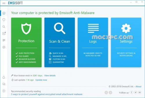 Emsisoft Anti-Malware 2021.1.0.10621 Keygen & Crack for Windows