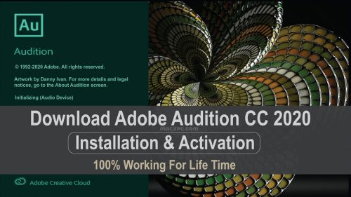 Adobe Audition 2021 Crack & Serial Key Full Download Mac Updated