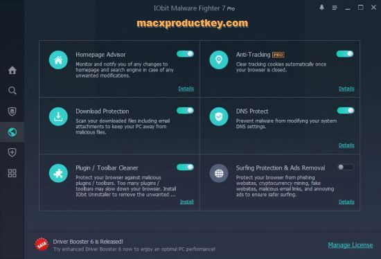 IObit Malware Fighter Pro 7.1.0.5675 Crack + Patch For Mac/Windows
