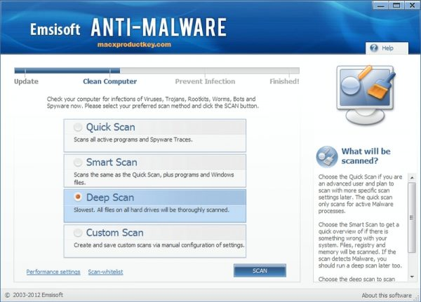Emsisoft Anti-Malware 2019.7.1.9637 Crack + Serial Key Free [Mac + Win]