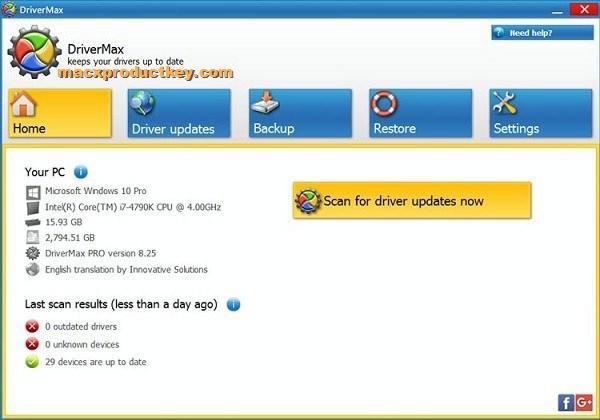 DriverMax 12.11.0.6 Crack With License Key 2020 | [Mac+Windows]