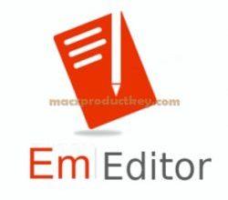 EmEditor Professional 19.8.1 Crack Incl Lifetime Serial Key Download