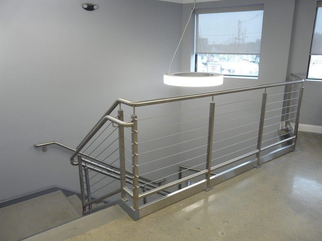 Custom Handrails Macy Industries New England Fabrication   Outside Handrails For Stairs   Porch   Wrought Iron   Stainless Steel   Backyard   Wooden