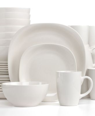 Thomson Pottery Quadro 32 Piece Set Service For 8