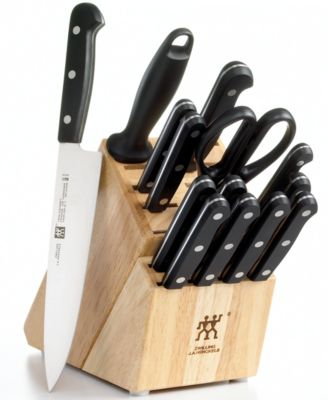 Zwilling JA Henckels Knife Block Set Only At Macys 15