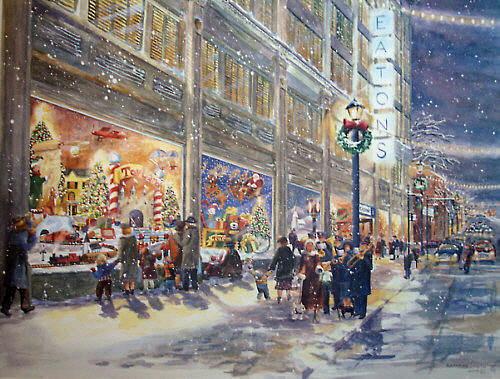 Macys Windows New York City Christmas Thanksgiving