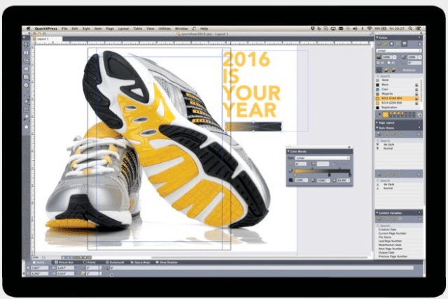 QuarkXpress2016