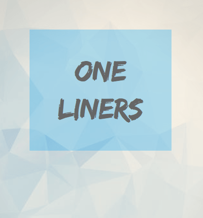 One Liners in Advertising – Mad Over Marketing | Advertising