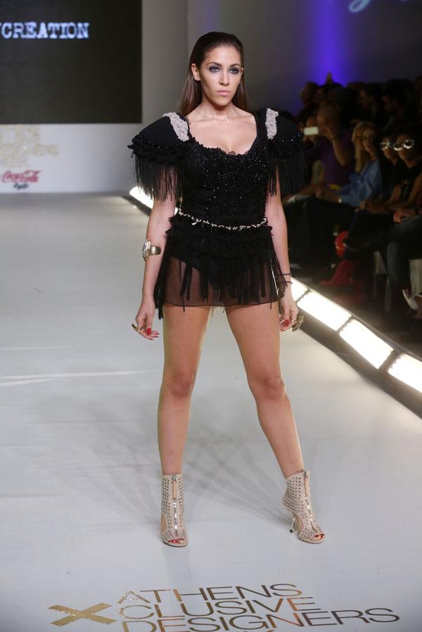 H sexy Antonella των KINGS σε ρόλο μοντέλου - Mad TV 6acbe2423a1