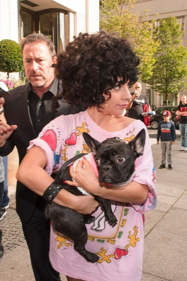 Lady-Gaga-arrives-with-her-Dog-Berlin-Germany (5)