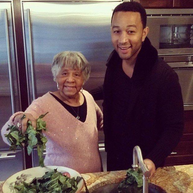 John-Legend-helped-his-grandmother-cook-collard-greens