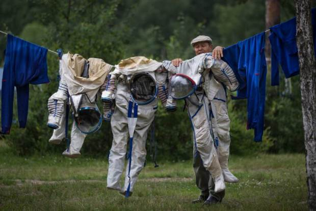 APTOPIX Russia Space Station