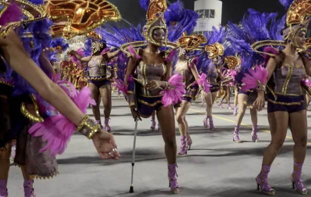 TOPSHOTS-BRAZIL-CARNIVAL-SAO PAULO-PARADE-NENE DE VILA MATILDE