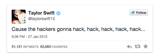 Taylor Swift s Private Twitter Messages Leak Online After Hack