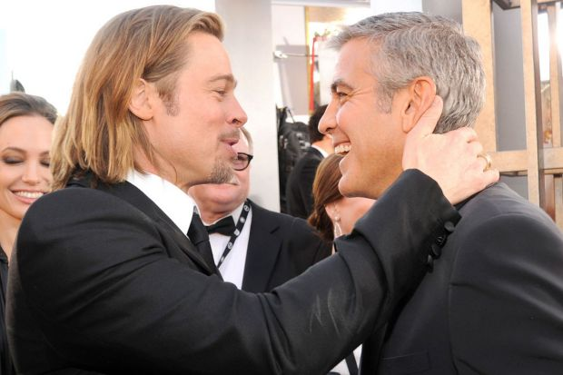 Brad-Pitt-and-George-Clooney