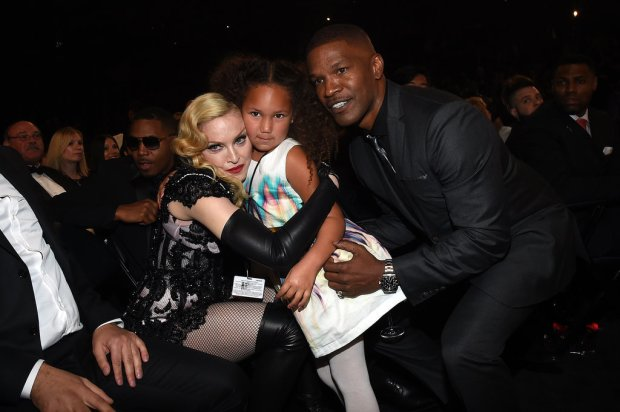 Madonna-Annalise-Bishop-Jamie-Foxx