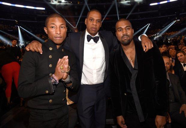 Pharrell-Jay-Z-Kanye-West