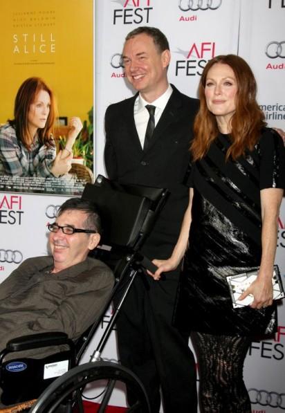 """Kristen Stewart and Julianne Moore attend the """"Still Alice"""" premiere"""