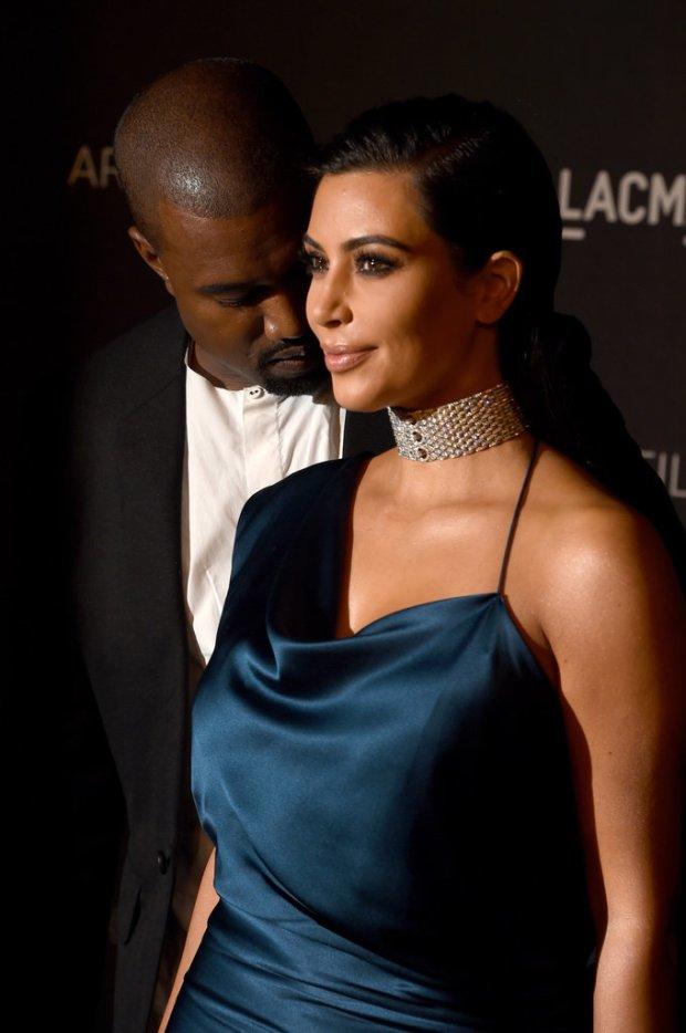 Pictures-Kanfye-Wfffest-Checking-Out-Kim-Kardashian