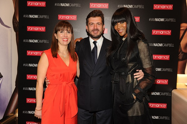 Barbara Cimmino;Gianluigi Cimmino;Naomi Campbell