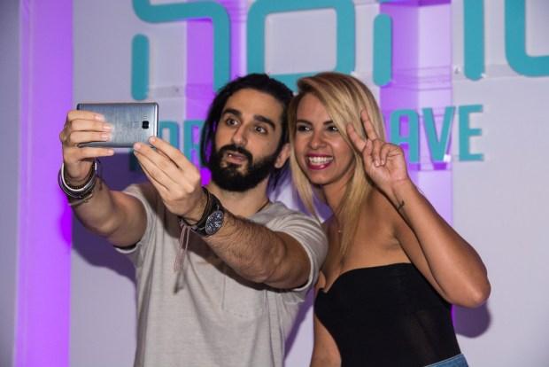 Ο Διονύσης Ατζαράκης και η Τζένη Μελιτά