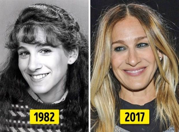 διάσημοι που άλλαξαν πολύ με τα χρόνια